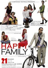 Happy family 21 6 13 Opera Locandina