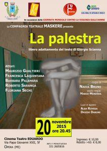 La Palestra 20 11 15 Opera Locandina