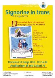 Signorine in trans 13 3 16 Locate Locandina