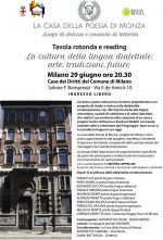 Lingue dialettali e minoritarie europee 29/6/2016 Milano