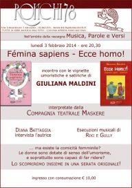 Femina Sapiens 3 2 14 Milano
