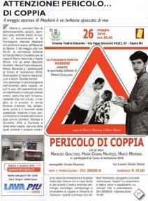 Informa Opera maggio 16 per Pericolo di coppia