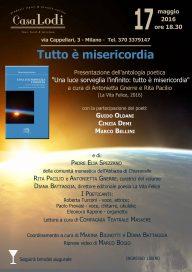 Misericordia 17 5 16 Milano - Locandina