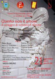 Questo non è amore 21 11 14 Opera Locandina