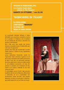 Signorine in trans Locandina