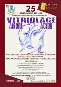 Vitriolage - Amore acido - locandina