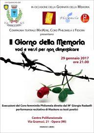 Il Giorno della Memoria - Locandina