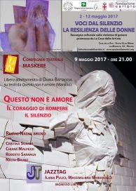 Questo non è amore - Milano 9 5 17 con Jazztag - Casa Merini