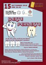 15 9 18 Milano -Dente perdente a Casa Merini