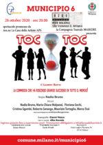 28 10 20 ANNULLATO Milano - Toc toc
