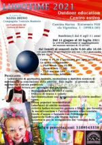 14/6-31/7/2021 LUDOTIME 2021 - Outdoor education Centro estivo bambini 6/11