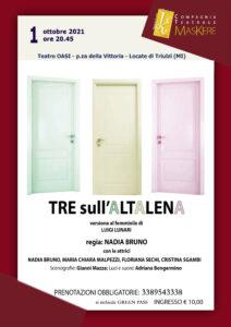 Tre sull'altalena (vers. femminile) @ Locate Triulzi - Teatro OASI